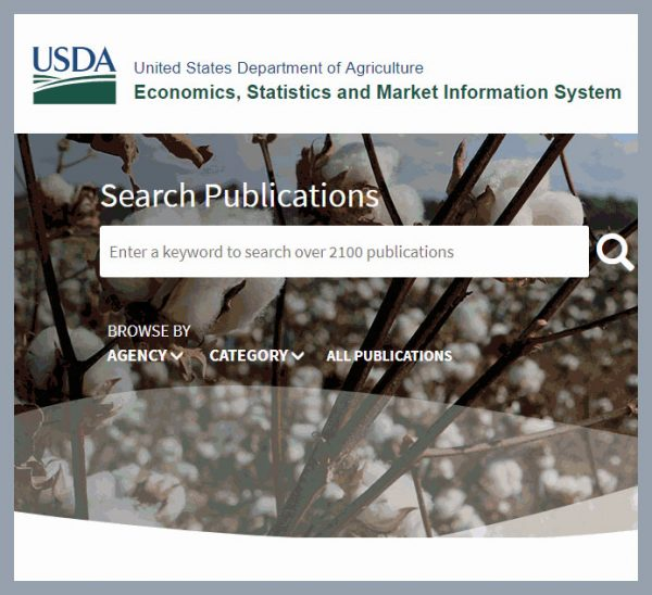 ESMIS: New and Improved Agricultural Information Service