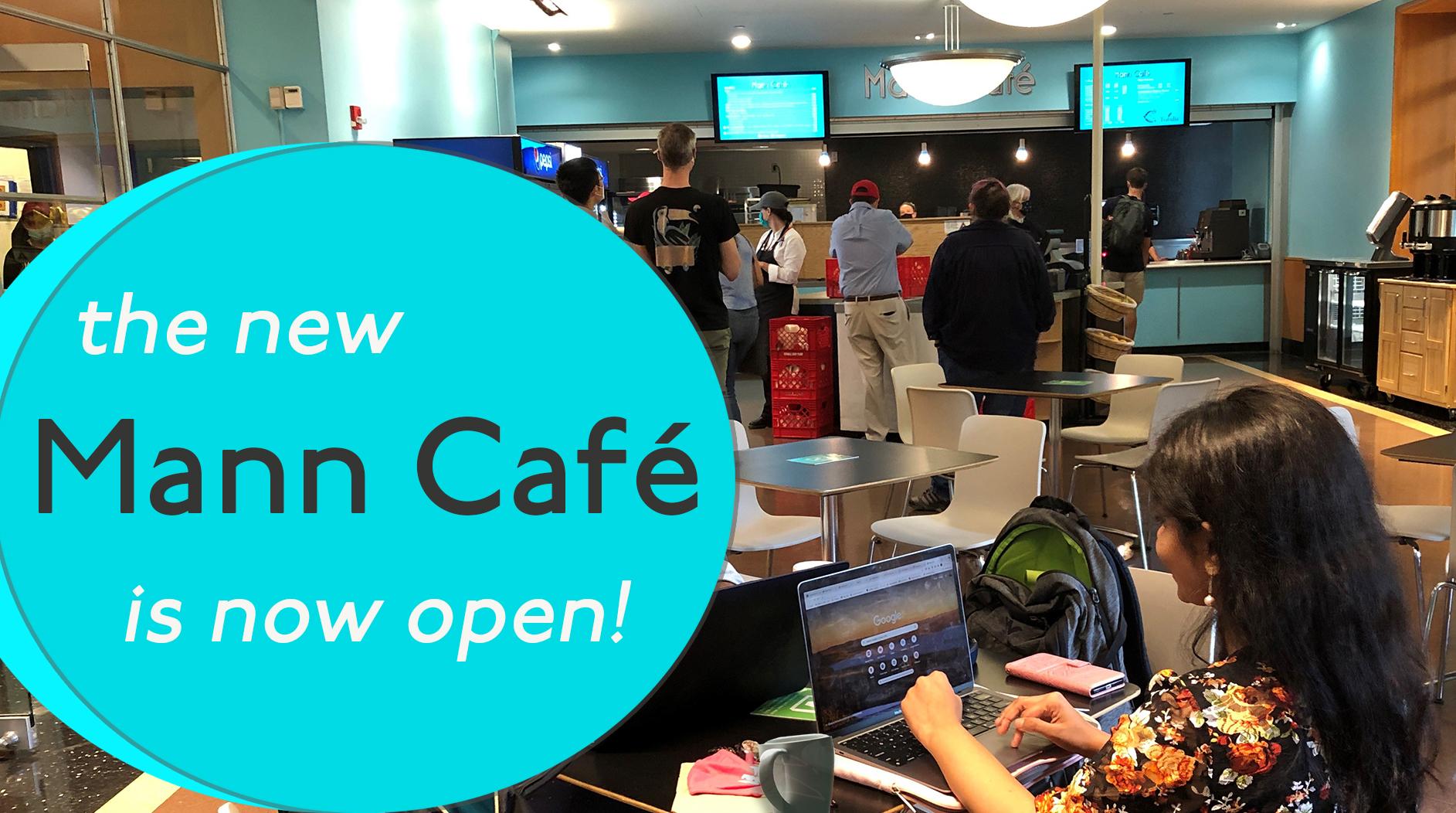 Interior of the new Mann Café