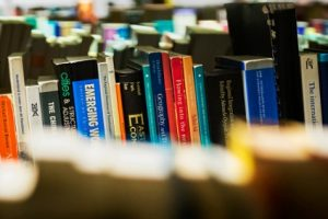 Books in the stacks